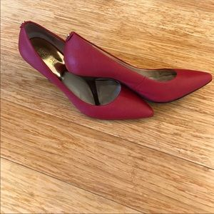 Michael Kors Red Pumps Size 9.
